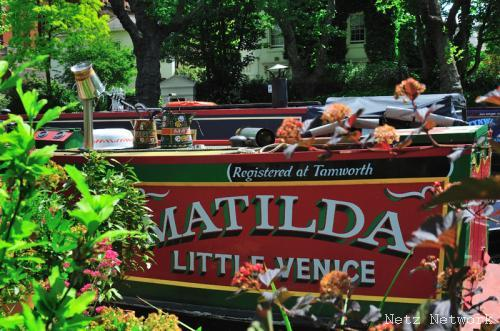 Hausboot Matilda, Little Venice